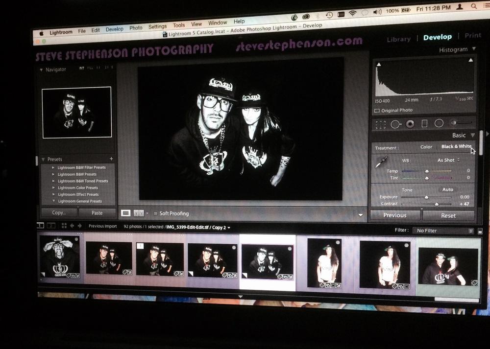 Late Night Editing