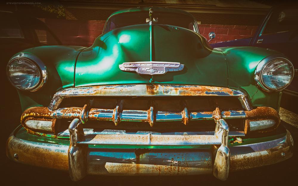 Green !952 Chevy