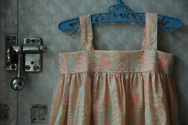 The dress I made for Frida Viola atMarapytta's sewing school:)