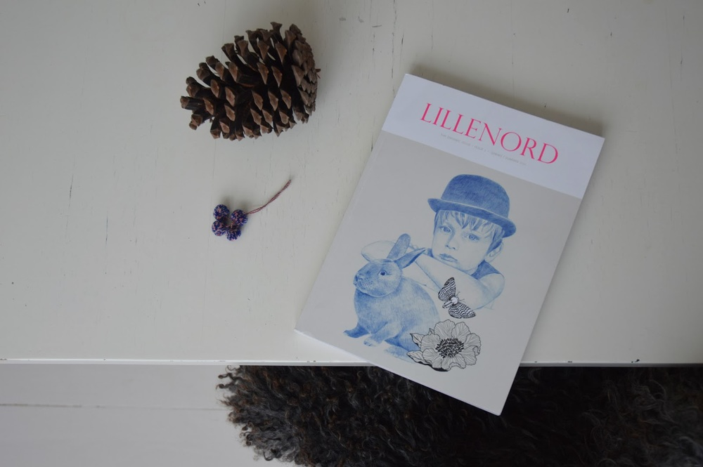 in my mailbox the other day – the new printed issue of Lille Nord with the fine-fine cover by Lisa Grue.