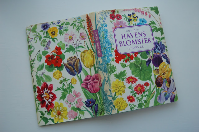 Flora book from the thrift store.