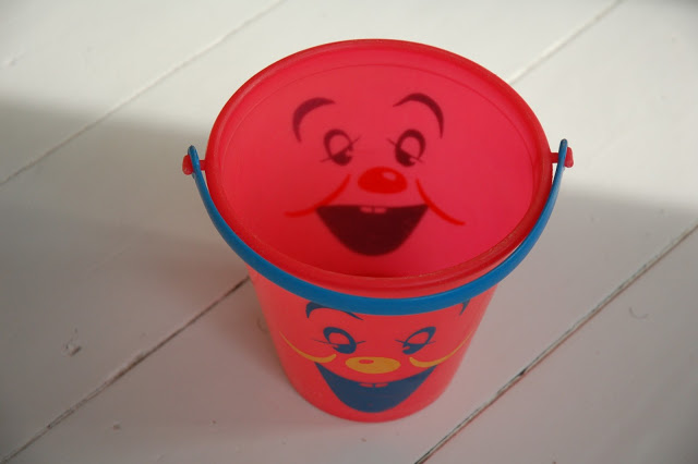 Very happy bucket from the flea market.
