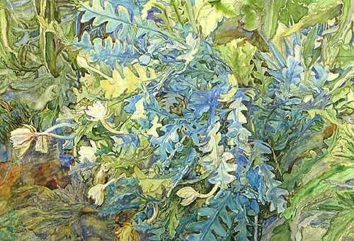 """Anna Syberg  : """"Kaktus fra Botanisk Haves drivhus"""", 1908."""