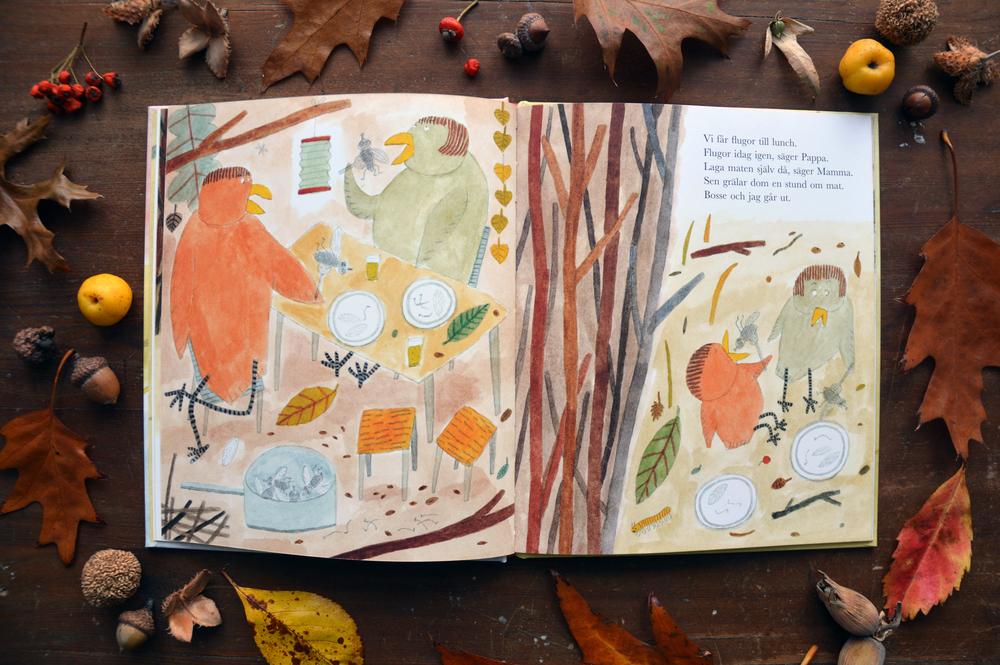 En Fågeldag    ,   Eva Lindström   , Alfabeta Bokförlag, 2013, ISBN: 9789150115406