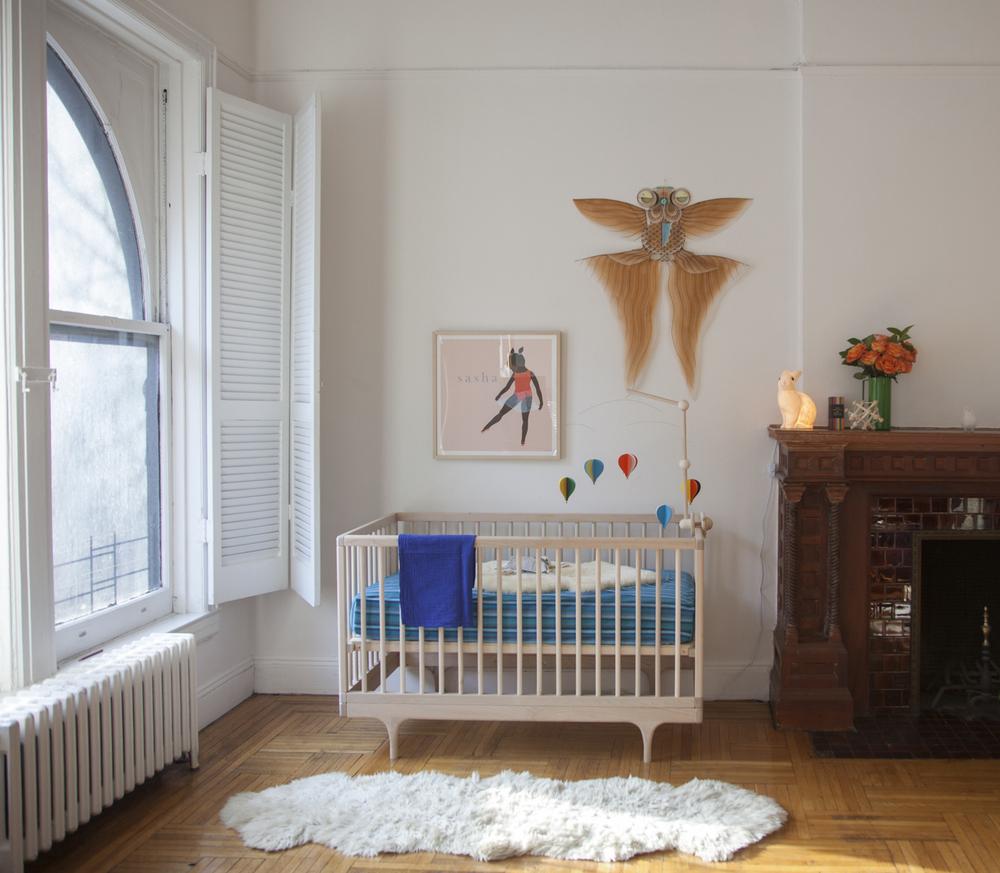 Ida's 10 months old daugher Una's room