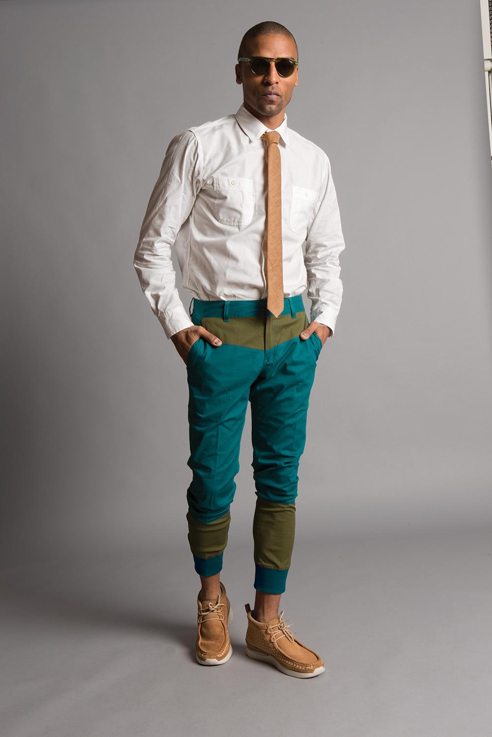 Bright Green Pants Men