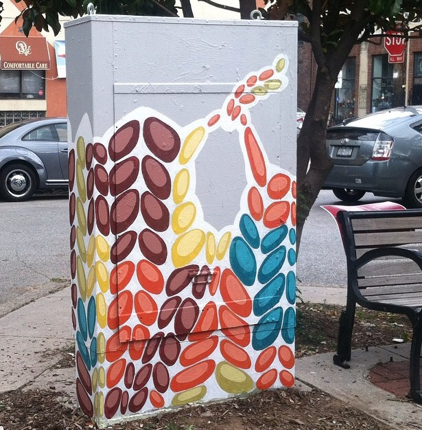 Box at 3rd & Bainbridge by Kelly Kozma