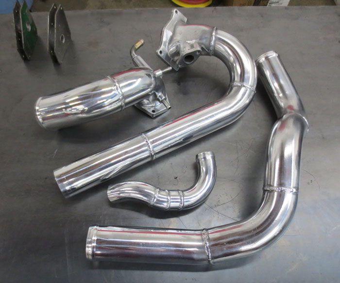Custom Aluminum Pipe Fabrication -