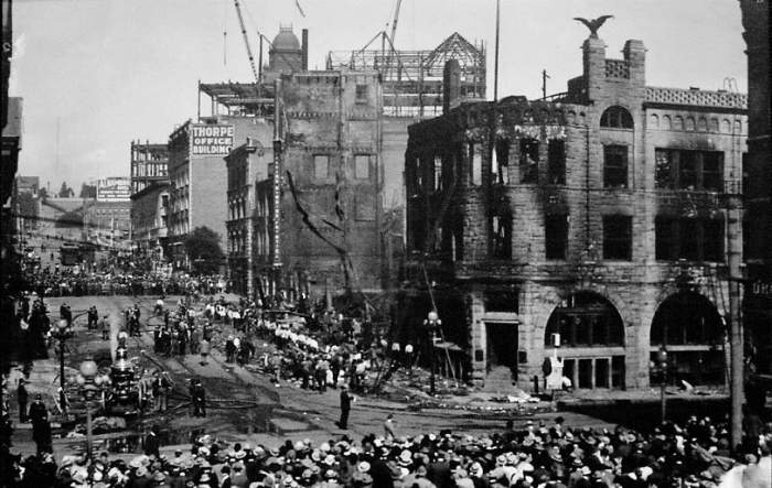 The bombing of Los Angeles Times Building