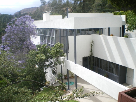 Lovell House, by Richard Neutra