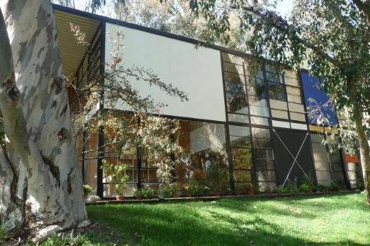 Eames House   (Case Study House # 8) -a milestone of modern architecture.