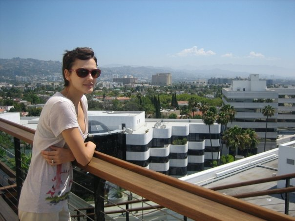 On the rooftop at Sixty Beverly Hills