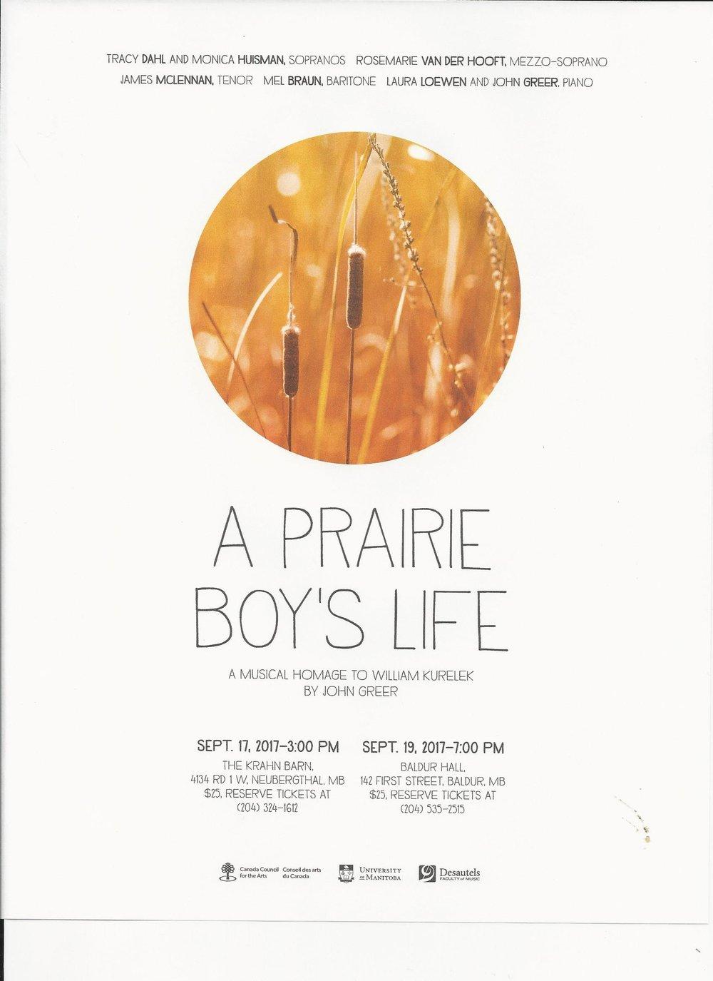 A Prairie Boy's Life Poster.jpg
