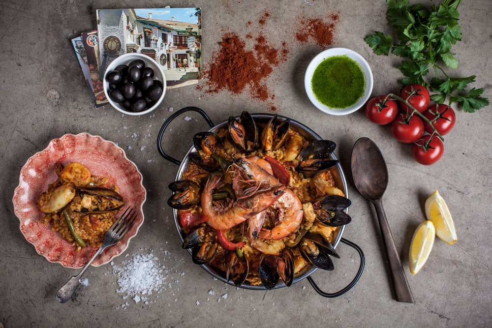 Our Seafood Paella