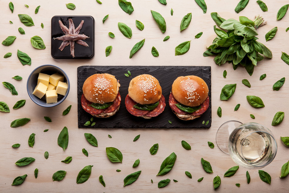 Our Chorizo Cantimpalo & Anchovie Butter Sliders