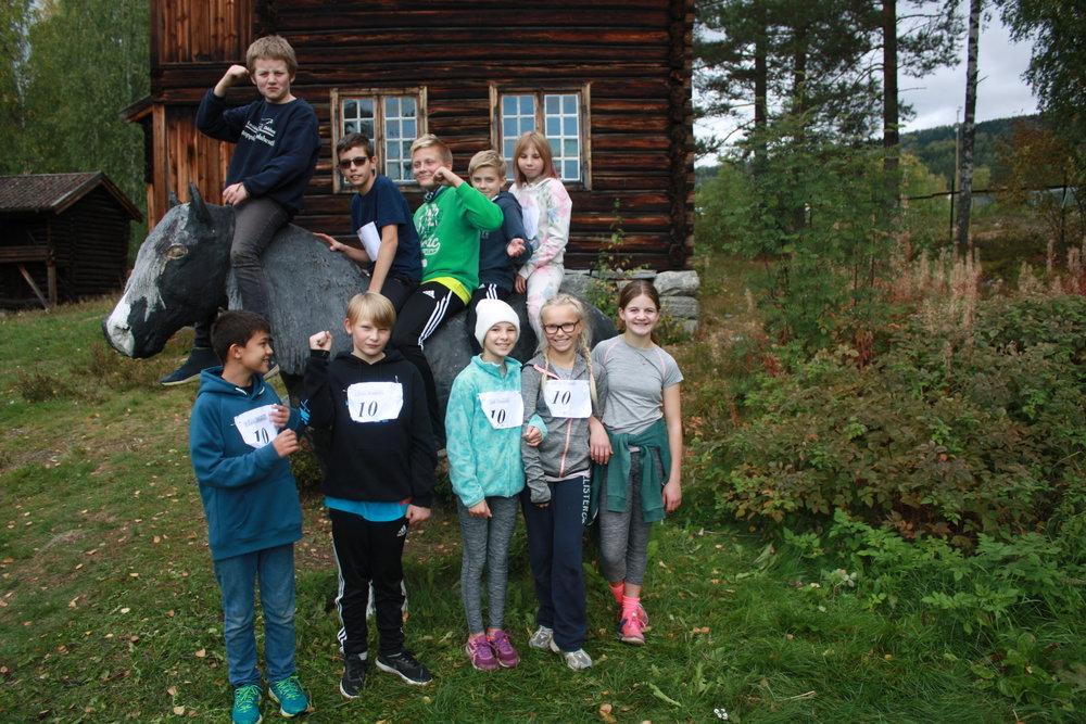 Gruppe 2 deltok i klassen for 6. trinn med et MIX-lag, og fikk en flott 4. plass!
