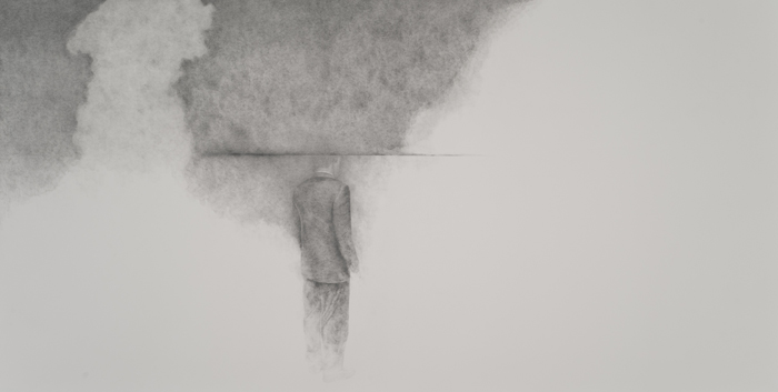 "Nightmare   Graphite on Paper  42.5"" x 76""  2013"
