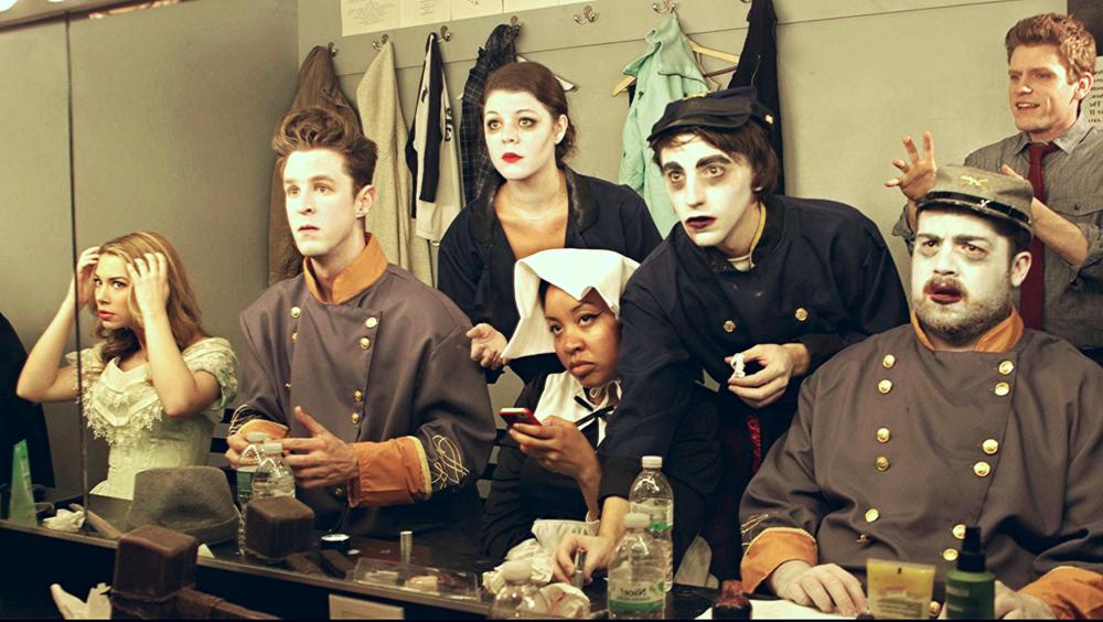 A still from Keith's webseries  Off , featuring Tony-winner Alice Ripley. (December 2015)