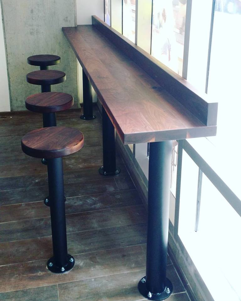Coffee Counter & Stools
