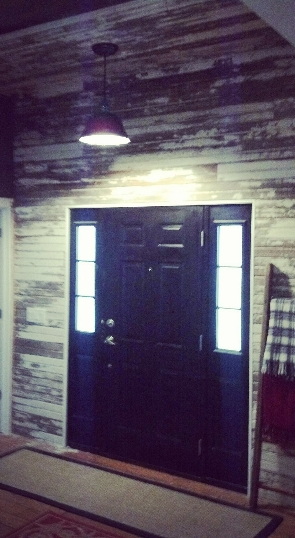 Reclaimed Wall Cladding