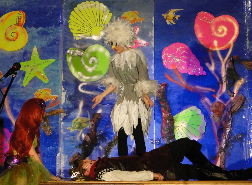 Drama encourages kids to try on new skins, to develop their confidence, and to learn that they can play a critical role in making something magical. They learn that collaborating, they can do more than they could ever do individually.
