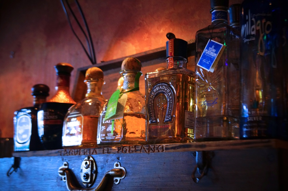 A tequila selection for all tastes