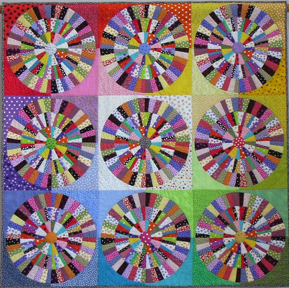 "On the Dot, 48"" x 48"", 2005"