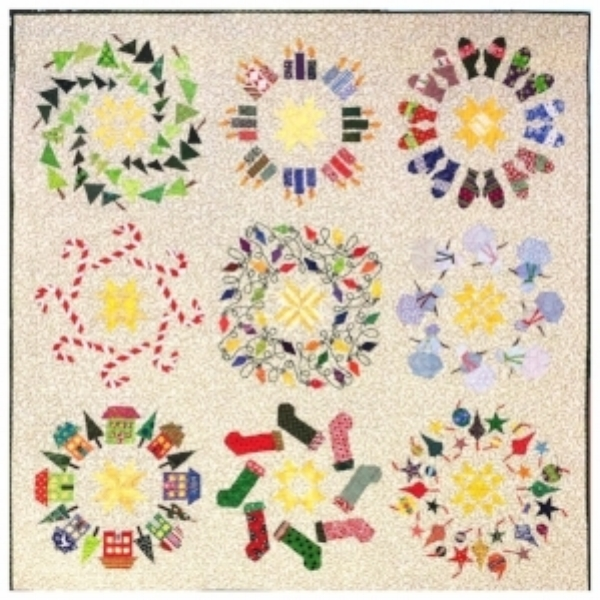 Wreath-o-rama quilt