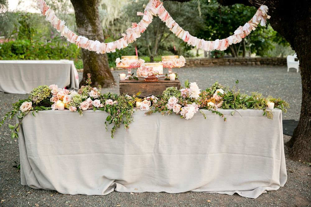 dessert table by sitting in a tree
