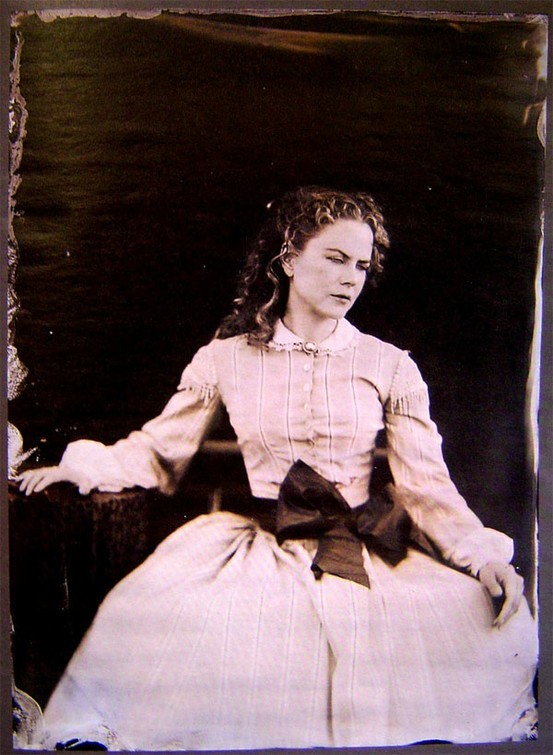 "Tintype of Nicole Kidman as her character of Ada Monroe from the film ""Cold Mountain"""