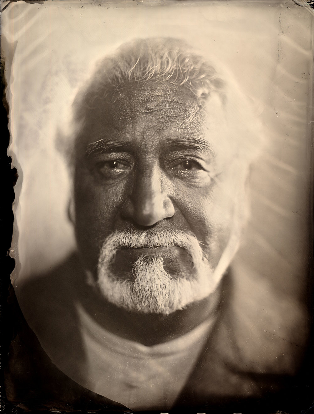 Wet Plate Photograph of Julian Scadden by Patrick Andrade