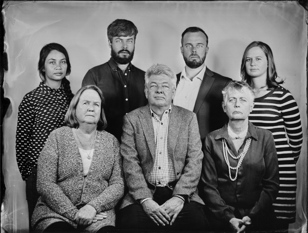 5-6 Person Tintype $220 Large only -