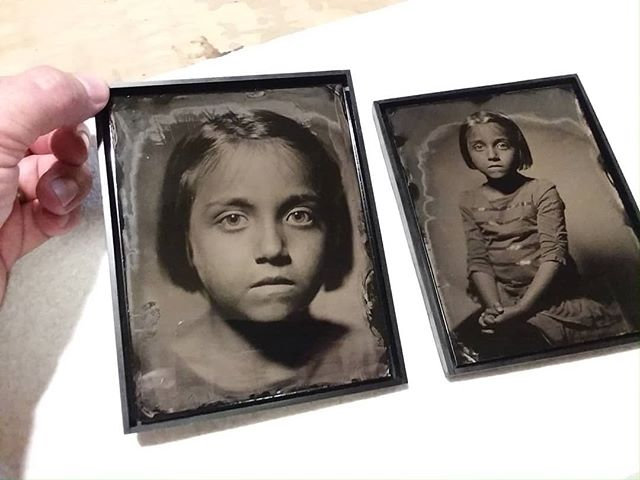 Framing tin types dating