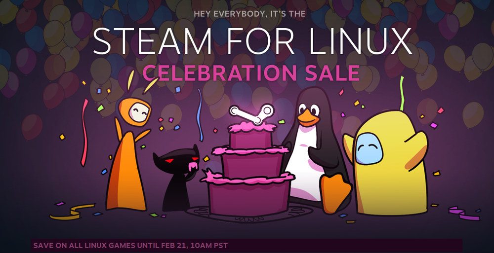 Steam for Linux image