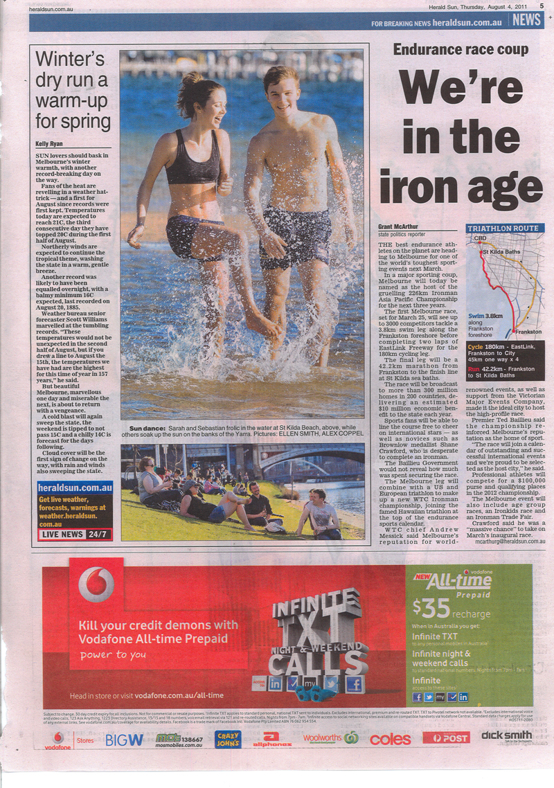 Herald Sun VMEC Melbourne Iron Man Media Launch.jpg