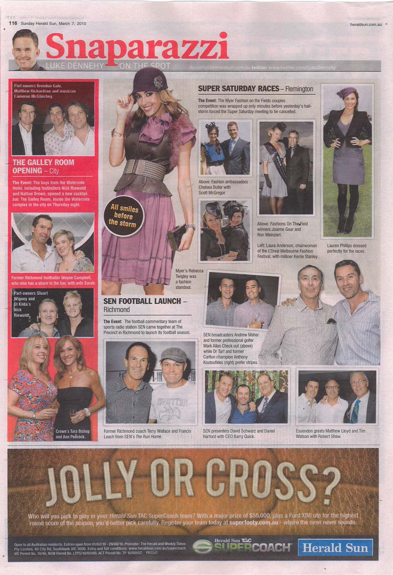 Sunday Herald Sun The Galley Room Opening Night.jpg