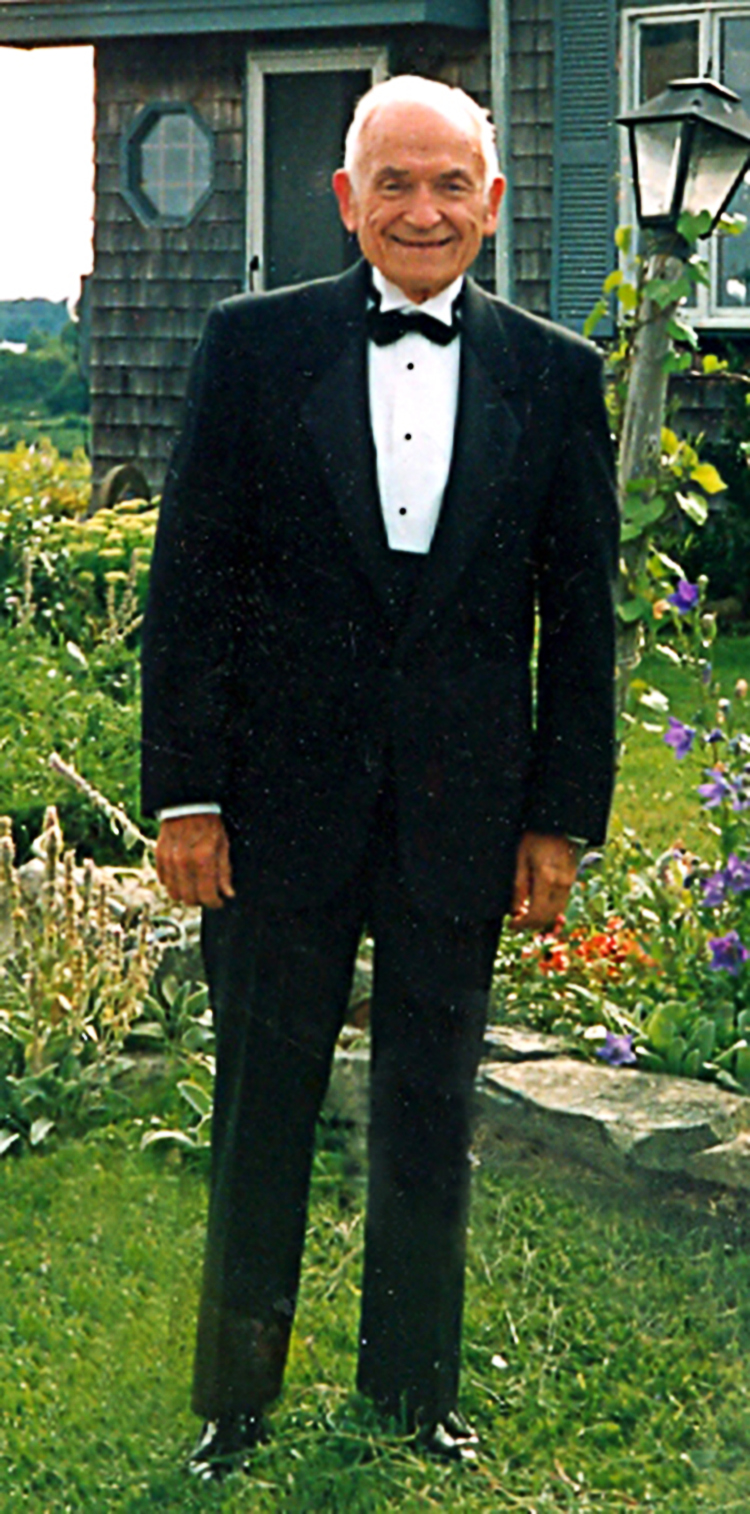 My Dad, Nick Bochain, Sr. This picture was taken at my aunt and uncle's home, the afternoon of Bill's and my wedding in 1992.