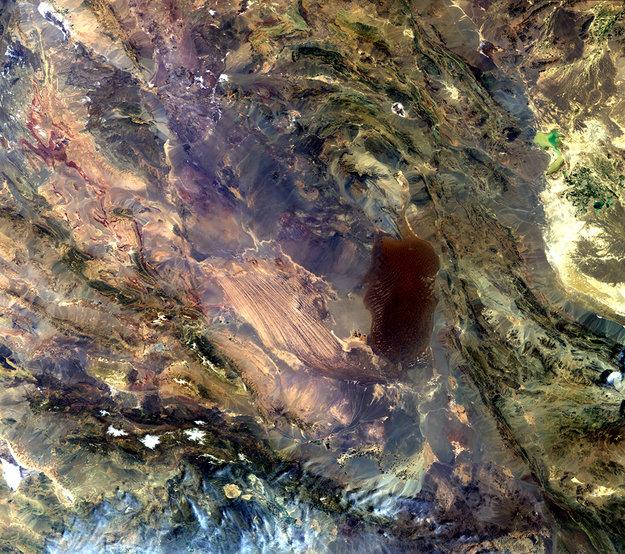 Dasht-e Lut Salt Desert, Iran