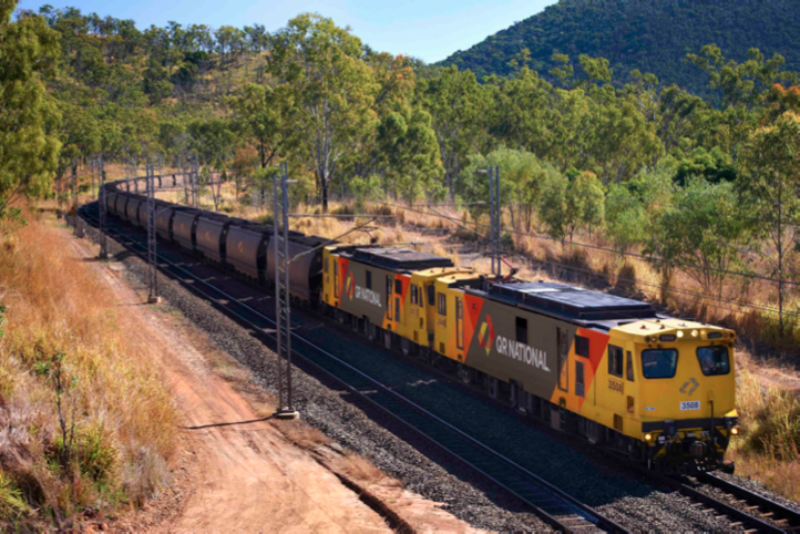 QR NATIONAL hauls coal to the Port of Gladstone. The company's 9,700 coal wagons moved 186m tonnes of coal last year. Capacity is due to rise to 300m tonnes by 2015, despite tonnage remaining below levels two years ago.