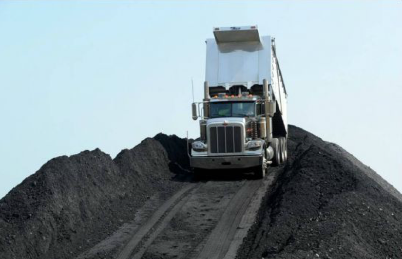 CORSA COAL's stockpiles at its Wilson Creek coal washing plant in Somerset County, Pennsylvania. The company is backed by Lukas Lundin and the founders of PBS Coals, sold to Severstal in 2008 for $1.3bn.