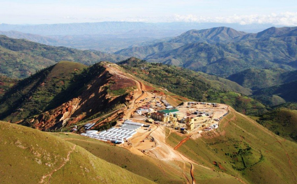 """BANRO's Twangiza mine, Kivu, easternDemocratic Republic of the Congo.Despite its location, Banro has a heavyweight investor base, including BlackRock and Ruffer's Baker Steel. Local observers are sceptical of any peace deal with rebel gunmen, the M23: """"Two years later, the accord won't be respected and the war will start again."""""""