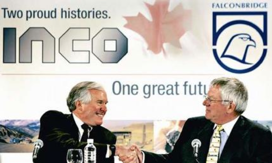 ROYAL NICKEL is led by executives from Inco and Falconbridge, whose C$19bn mega-merger was thwarted in 2006 by a furious bidding battle involving Xstrata, Teck Cominco, Vale and Phelps Dodge. Inco chairman Scott Hand (left) chairs Royal Nickel.