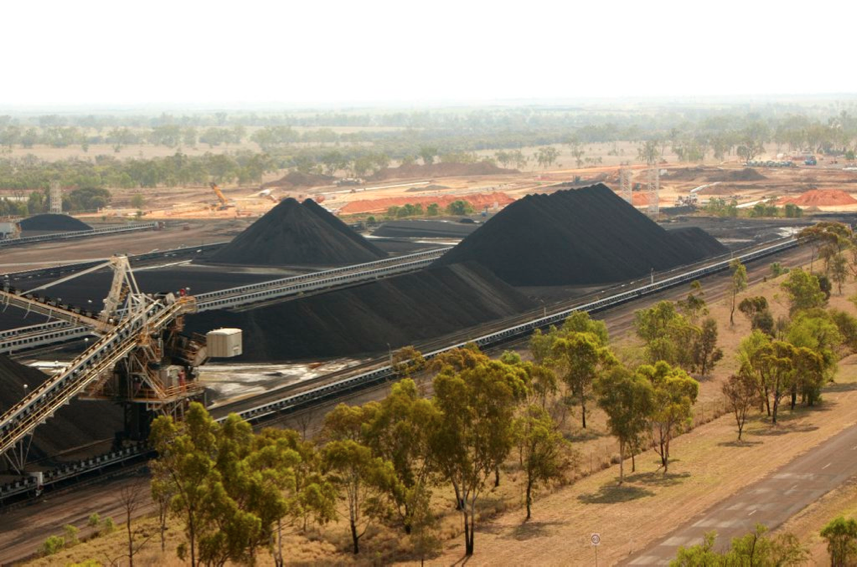 RIO TINTO's Kestrel coal mine in Queensland, where Anglo Pacific holds a 7 to 15 per cent royalty. Uniform and underground machinery at the mine is entirely pink, in support of a local healthcare charity.