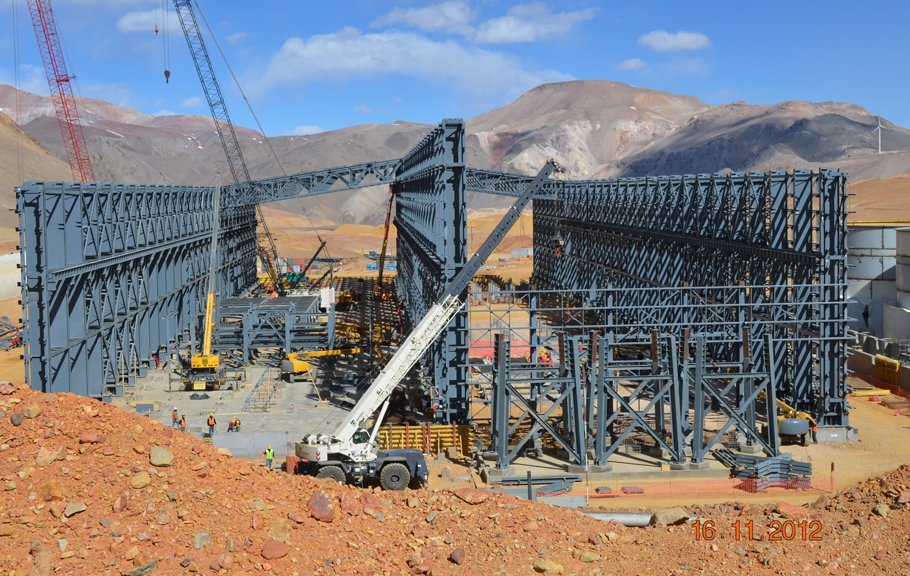 BARRICK GOLD's $8.5bn Pascua Lama mega-project on Chile's border with Argentina.