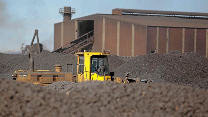 BHP BILLITON's manganese operations in South Africa, thought to be on the block. Photo: BHP Billiton