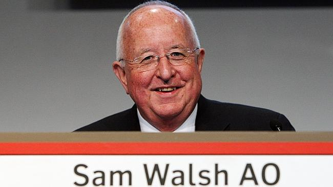 """RIO TINTO's Sam Walsh, this week cajoled into considering a $175bn merger with Ivan Glasenberg's Glencore, creating the world's largest mining company with """"market leading positions in iron ore, copper, nickel, zinc and coal,"""" according to Bernstein analyst Paul Gait."""