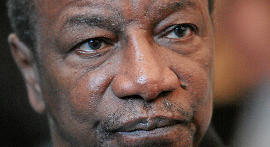 GUINEA'S President, Alpha Condé. Evidence of vote rigging in his election in 2010 is likely to surface at a World Bank tribunal, sources say, following a dispute between Guinea's government and mining group BSG Resources. Photo: Wiki