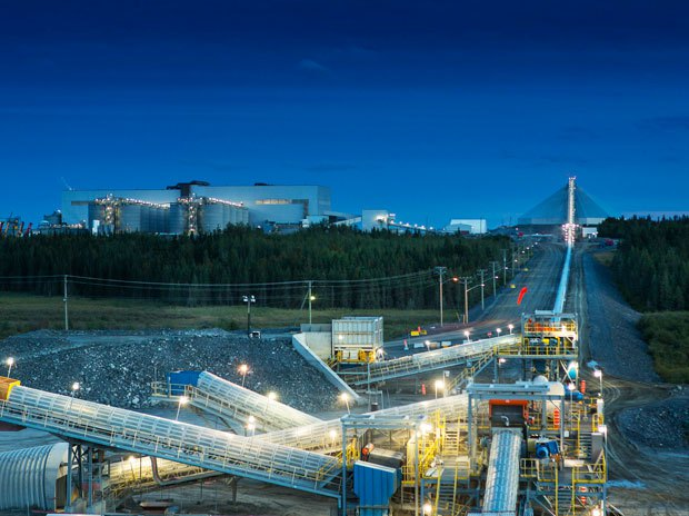 The 16m-ounce Malartic mine, Quebec, subject to a royalty held by Osisko Gold Royalties. Photo: Osisko