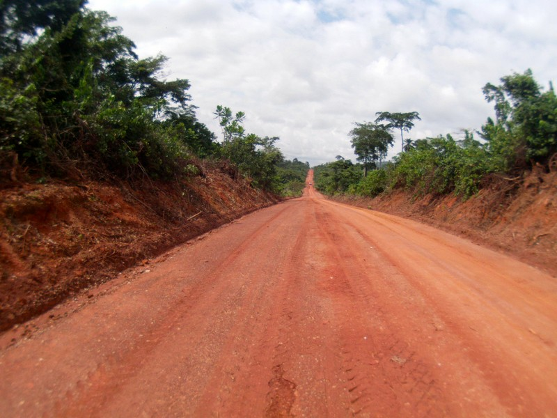 Access road at ASANKO GOLD's Esaase gold project in Ghana. Photo: Asanko Gold