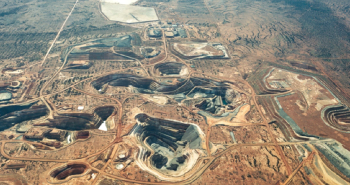 A PORTRAIT OF SUNK CAPITAL: Northern Star's Jundee mine in Western Australia, bought from Newmont last year for A$82.5m ($77m).Photo: Northern Star Res.